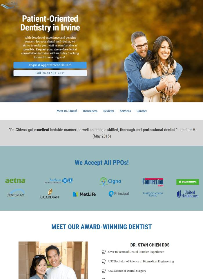 YoYoFuMedia-Dental-Online-Marketing-Web-Design