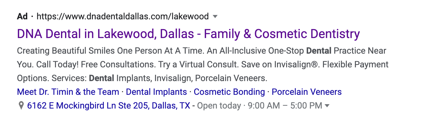 19 Example of a dentistry in Dallas