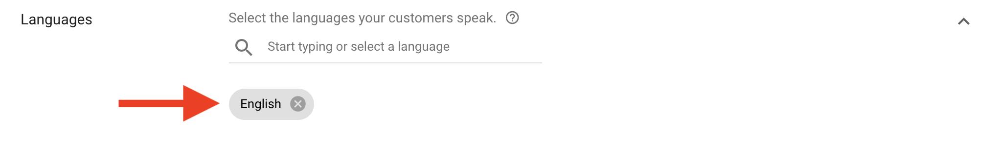 8 Select languages spoken