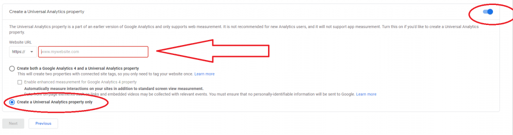 Dental practice Google Analytics